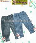 Hot sale branded girls fashion leggings for autumn