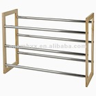 Metal shoe rack designs