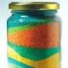 Color Sand for painting / colored silica sand