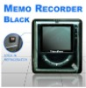 Digital Video Memo - fridge magnet memo recorder LCD Blk
