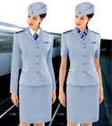 AU-24 customize fashionable airline uniform /airline stewardess uniform