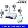 Newest 15m IR wireless remote control camera with 2.4Ghz