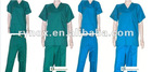 v-neck medical uniform and hospital clothing