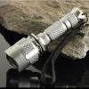 Aluminium wiederaufladbare wasserdicht taktische taschenlampe
