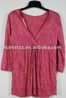 120 CHUNLEIZZ custom clothes clothing blouse ladies' blouses & tops women's neck design of women apparel back garment