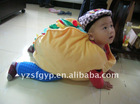 soft short floss toy hamburger costume