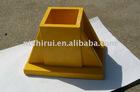 FRP handrail surface mounting bracket