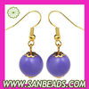 Handmade Fashion Plastic Bubble Earrings Wholesale