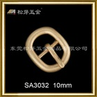 10mm alloy pin buckle for garment and shoes