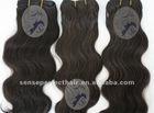 Beautiful human virgin brazilian remi hair producs