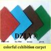 Plain exhibition carpet for wedding