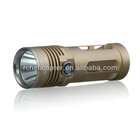 Kinfire U3 850 Lumens Super Bright White Light CREE-T6 2-Mode Waterproof Mini LED Flashlight (Yellow)