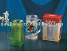 plastic frosty mug