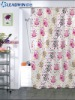 Bright color fasion selling PEVA shower curtain waterproof