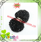2012 fashion resin bead shoe accessories for ladies shoe