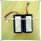 KeepPower custom series 2s1p 7.4v 2600mah li ion battery pack