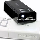 Yoobao portable Journey Power Bank 4800mah for Mobile for iphone 4 for ipad Samsung PSP with Flashlight