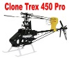 CNC carbon Metal Upgrade for Trex 450 PRO Helicopters ARF parts