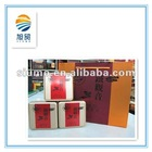 wholesale boxy tin tea can with airtight metal lid