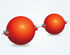 OMARK Obstruction marking sphere / warning globe
