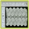 high quality,hot sale crocheted water dissolving lace farbic