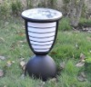 Solar outdoor spot lamp