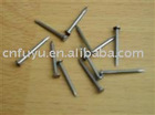 polished bright or galvanized common nail