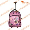 M2 pink girl wheeled school bag