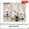 2013 HOT SALE handbag with Ink pattern
