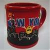 2D soft PVC mug