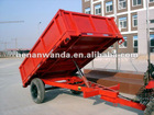 4 ton genral fram trailer with 2 wheels