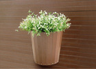 WPC polywood decorative flower pot plant box - outdoor patio furniture
