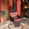 hanging chair/patio swing chair/rattan swing seat/unique swing chair