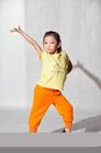 31121203 & 31122401 Girls' T-Shirt & 3/4 Length Pants, children dance sets