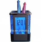 pen holder light clock/light pen holder/pen holder
