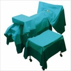 Green surgical towels