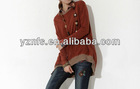 2013 fashion European casual t shirt girl wearing