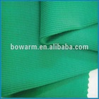 100% cotton 2x2 rib knitting fabric