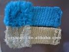 Fashion mitten gloves with rabbit rabbit gloves winter gloves