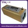 aluminium alloy mini speakers for phones with FM