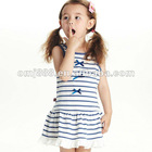 OMJ Latest kids fashion Children Flowery child wear designs Dress
