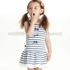 OMJ Latest kids fashion Children Flowery child wear designs Dress