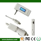 for iphone4s and iphone 4 car fm transmitter handsfree