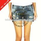 (#TG120S) 2012 fashion denim jeans shorts for women