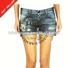 (#TG120S) 2012 fashion denim jeans shorts for women