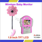 Camera can be working at night with 8 IR LED Video&Audio Equipments Baby Monitor