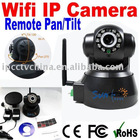 P/T Wireless IP Camera with two way audio,IR 10m