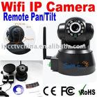 P/T Wireless IP Camera with two way audio,IR 10m