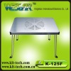 laptop cooling desk with cooler pad