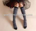 Cute thick long socks for woman